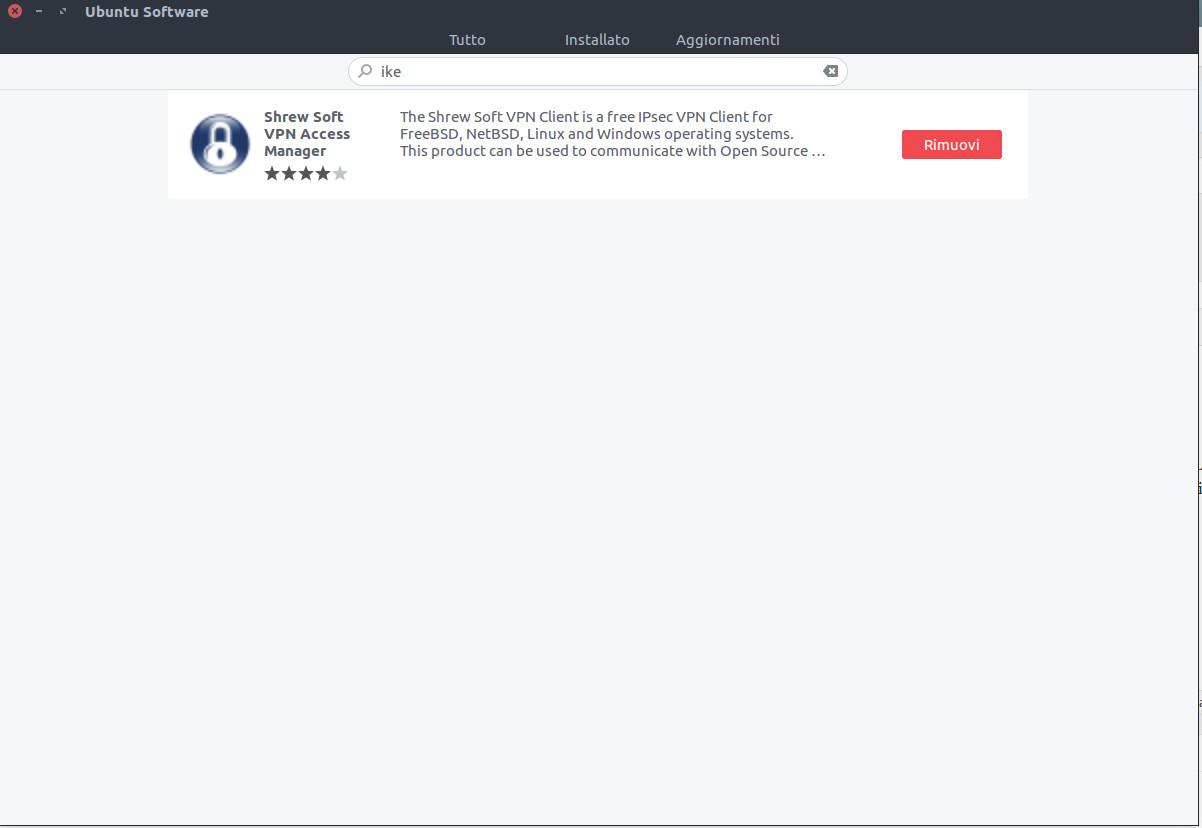 Un Client VPN IPSEC per Ubuntu